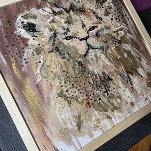 Lion Gold Art  - Meska.hu