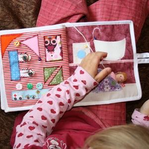 készségfejlesztő textil foglalkoztatókönyv (jilonia) - Meska.hu