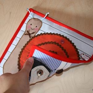 Forma gombolós -  textil foglalkoztató lap kétoldalas - Meska.hu