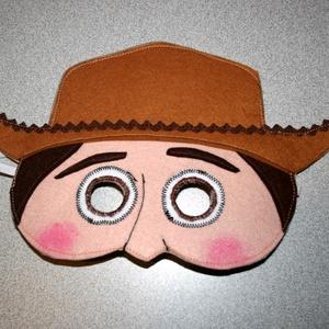 Toy story Woody álarc filcből - Meska.hu