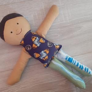 fiú baba textilbaba rongybaba - Meska.hu