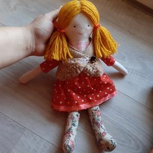 öltöztethető textilbaba rongybaba - Meska.hu