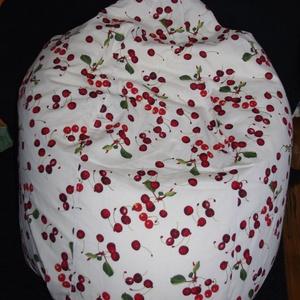 Cseresznyéskert ÚJ 2 rétegű felnőtt babzsák fotel, Bútor, Otthon & lakás, Szék, fotel, Lakberendezés, Babzsák, Varrás, ÚJ 2 rétegű felnőtt babzsák fotel különböző színekben, különböző mintákkal, az igényednek megfelelőe..., Meska