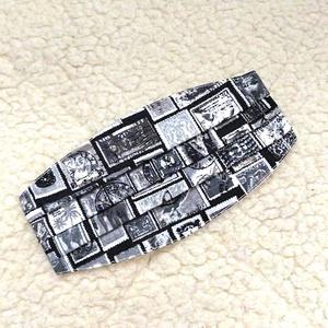 Vintage bélyeg mintás redőzött Textil mosható szájmaszk, arc maszk ( felnőtt ), Maszk, Arcmaszk, Varrás, 100% pamutvászonból készült két rétegű textil felnőtt méretű száj-\nmaszk.\n10 DB VAGY AZ FÖLÖTTI DB S..., Meska
