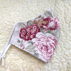 Nagy virág mntás Textil mosható szájmaszk, arc maszk ( felnőtt ), Ruha & Divat, Maszk, Arcmaszk, Varrás, 100% pamutvászonból készült két rétegű textil felnőtt méretű száj-\nmaszk.\n10 DB VAGY AZ FÖLÖTTI DB S..., Meska
