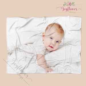 Egyedi takaró saját fotóval, felirattal - pihe-puha polár vagy mikropolár anyagból (joyflowerdesign) - Meska.hu