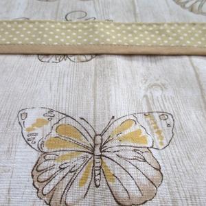 Női kötény + 2 fülfogó (pillangó és pöttyök) (Juaniita) - Meska.hu