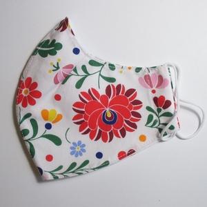 Maszk,  (gyerekmaszk is)többféle méretben és mintával, NoWaste, Kényelmes és csinos maszk, melyből mindenki megtalálja a stílusához, színvilágához illőt. Két rétegű..., Meska