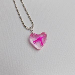 'Jeges pink' lánc (Jcreative) - Meska.hu
