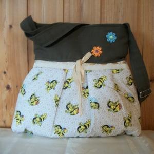 Méhecskés - válltáska (Jucko) - Meska.hu