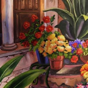 Virágos kert (Judit38) - Meska.hu
