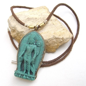 Buddha nyaklánc, Női amulett nyaklánc, Buddhista nyaklánc, Ezoterikus nyaklánc nőknek (jullyet) - Meska.hu