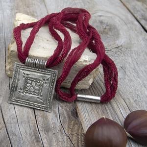 Indiai (Naga) nyaklánc, Törzsi nyaklánc, Amulet nyaklánc, (jullyet) - Meska.hu