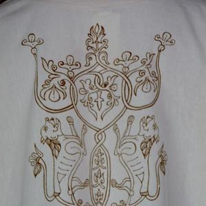 Nyersvászon ing etelközi ornamentikával S-4XL - Meska.hu