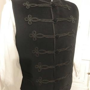 Vitéz bocskai mellény vastag gyapjú - ruha & divat - férfi ruha - mellény - Meska.hu
