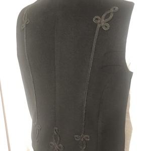 Kende mellény vastag kabátszövet - ruha & divat - férfi ruha - mellény - Meska.hu