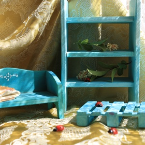 Bababútor, Gyerek & játék, Gyerekszoba, Gyerekbútor, Játék, Baba, babaház, Fajáték, Famegmunkálás, Mindenmás, Aprócska bútorok babaházba, vagy csak önfeledt játékhoz. Akár nézegetni is...\nmert játszani jó!\n\nMér..., Meska