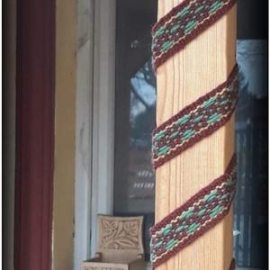 Szövött szalagok, Öv, Öv & Övcsat, Ruha & Divat, Szövés, Szövött szalagok rendelhetően különböző színben, mintával, méretekkel dekorációs célra, jurtába, lak..., Meska