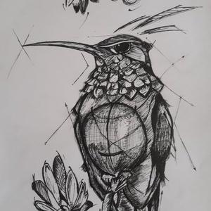 rajz, Egyéb, Fotó, grafika, rajz, illusztráció, grafit és tűfilc rajzok, Meska