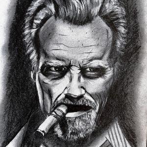 Grafit rajz, Portré, Portré & Karikatúra, Művészet, Fotó, grafika, rajz, illusztráció, Grafit rajz. , Meska