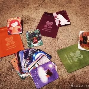 Adventi szívmelengető - Memóriajáték kicsiknek és nagyoknak, Játék & Gyerek, Társasjáték & Puzzle, Festészet, Fogadjátok szeretettel a Kacsóművek első igazi játékát, amelyben visszatérünk az adventi kalendárium..., Meska