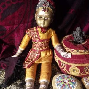 Raama indiai stílusú porcelánbaba, Játék & Gyerek, Baba & babaház, Baba, Baba-és bábkészítés, Varrás, Ő pedig Raama. Amikor nekiláttam, két dolgot tudtam róla: Kuroszaka után szeretnék csinálni még egy ..., Meska