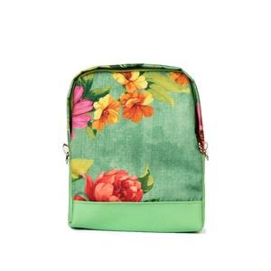 Free Bird mini hátizsák nőies útitárs / virágos, Táska & Tok, Hátizsák, Kishátizsák, Varrás, Szereted, ha csinos vagy és közben a táskád is kényelmes? A Free Bird táskákkal kényelmesen túrázhat..., Meska