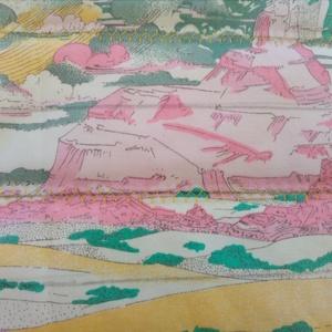 Virágos steppelt takaró, Otthon & Lakás, Lakástextil, Takaró, Foltberakás, Varrás, Mérete 138x96 cm\nPamut vászon nagy virágos mintás steppelt takaró . közbélés 90 gr vatelin. 40 fokba..., Meska
