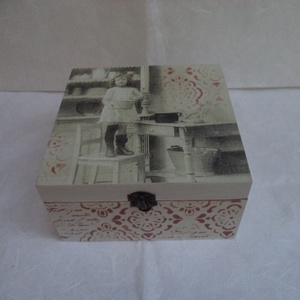 Szorgoska - 4 fakkos fa doboz (kamilla112) - Meska.hu