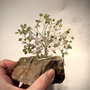 Szerencsefa kristályfa életfa PERIDOT több mint 100 kristályból!, Dísztárgy, Dekoráció, Otthon & Lakás, Ékszerkészítés, Gyöngyfűzés, gyöngyhímzés, A szerencsefa vagy más néven életfa harmonizálja, energizálja környezetünket. Pozitívan befolyásolja..., Meska