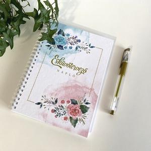 Esküvőtervező napló, Esküvő, Emlék & Ajándék, Szeretettel ajánlom minden kedves menyaszonnynak ezt a praktikus esküvőtervező naplót, avagy másnéve..., Meska