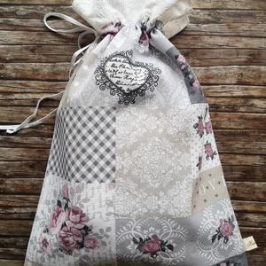 Kenyeres zsák Vintage romantikus csipkés , Táska & Tok, Bevásárlás & Shopper táska, Kenyeres zsák, Varrás, Elég volt a papírszalvétákból, nejlonzacskókból, fóliába csomagolt uzsonnákból, eldobható műanyag cs..., Meska