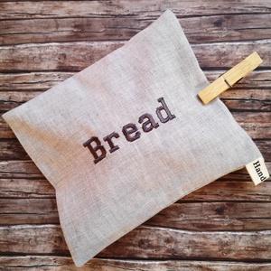 Snackbag bread hímzett, facsipesszel - újraszalvéta (Katalinhandmade) - Meska.hu