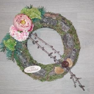 Koszorú, Művészet, Virágkötés, Minden évben eljön a nap,mikor ehunyt szeretteinkre emlékezünk, erre az alkalomra készítettem a kére..., Meska