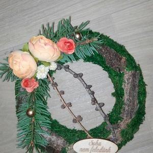 Koszorú, Művészet, Virágkötés, Minden évben eljön a nap amikor ehunyt szeretteinkre emlékezünk. Erre az alkalomra készítettem ezt a..., Meska