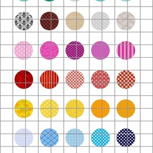 TEXTÚRÁK 2.  kör alakú digitális montázs 25 x 25mm 35db, Gyöngy, ékszerkellék, Üveglencse, Ékszerkészítés, Grafika, fotó, Papírművészet, 2 + 1 AKCIÓ! \nKét ív digitális montázs vásárlása esetén választani lehet egy harmadikat ajándékba!\nF..., Meska