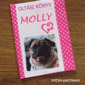 Oltási könyv borító házi kedvenceknek (KATKApatchwork) - Meska.hu