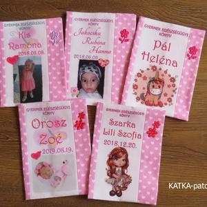 Gyermek egészségügyi könyv borító (KATKApatchwork) - Meska.hu