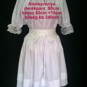 Néptánc próbaszoknya iskolás méretben 45-55 cm (Kavicsanyu) - Meska.hu