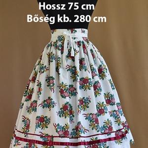 Kamasz néptánc szoknya 75 cm  - Meska.hu