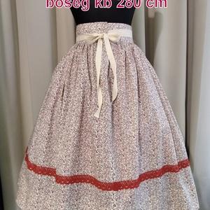 Kamasz néptánc szoknya 70 cm  - ruha & divat - női ruha - szoknya - Meska.hu