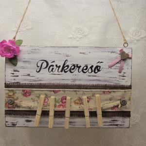 Vintage rózsás párkereső zoknihoz/kesztyűhöz (Kdekor) - Meska.hu