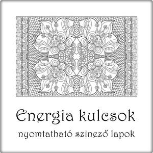 Energia kulcsok - nyomtatható színező lapok (kedo) - Meska.hu
