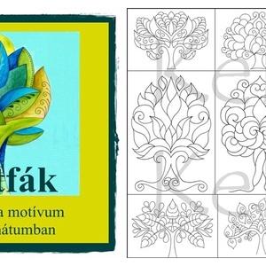 Életfák - nyomtatható színező sablon  (kedo) - Meska.hu