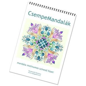 CsempeMandalás színező füzet  (kedo) - Meska.hu