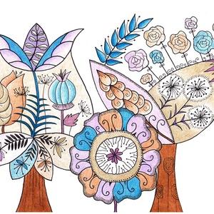 Virág a virágban (kedo) - Meska.hu
