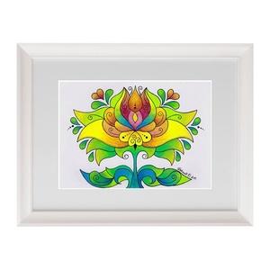 Tulipán - falikép (kedo) - Meska.hu