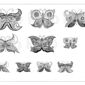 Matrica ív, DIY (Csináld magad), Egységcsomag, Fotó, grafika, rajz, illusztráció, Saját készítésű rajzaimat digitalizáltam. \nA matrica ív nyomtatható formátumú, amit elektronikus úto..., Meska