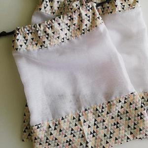 Öko textil bevásárló tasak, Zöldség/Gyümölcs zsák, Bevásárlás & Shopper táska, Táska & Tok, Varrás, Fontos számodra a környezetvédelem? Használj környezetbarát, textil bevásárló tasakot az eldobható n..., Meska