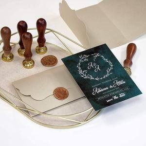 Save the date kártya, Esküvő, Meghívó & Kártya, Meghívó, Fotó, grafika, rajz, illusztráció, Papírművészet, \n\nMérete 10,5x14,8  cm, kreatív kartonra nyomtatva.\n\nAz ár a borítékot nem tartalmazza, erre üzenetb..., Meska